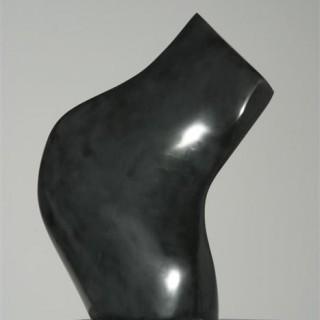 Torso schwarz 40 cm, Nero Belgo
