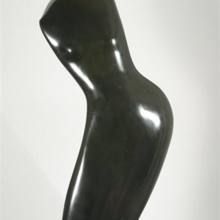 Torso schwarz 100 cm, Nero Belgo