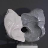ohne Titel 85 cm Marmor Carrara und Pietrasanta